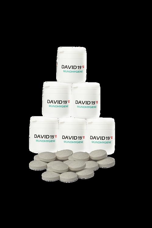 1 Dose mit 60 Mundhygiene Lutsch Tabletten