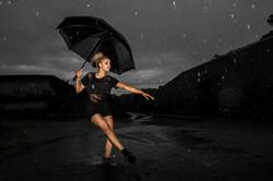 Dance Photography Rain Umbrella