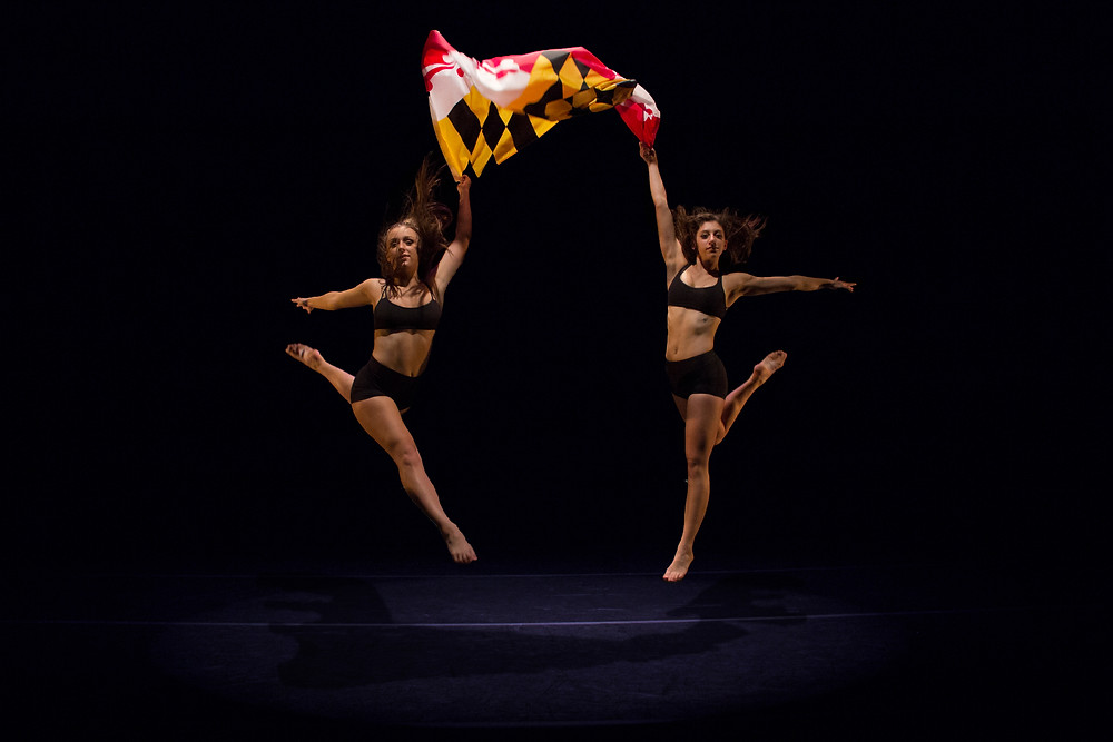 Maryland Flag Dance Photography