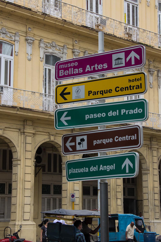 Directions in Cuba