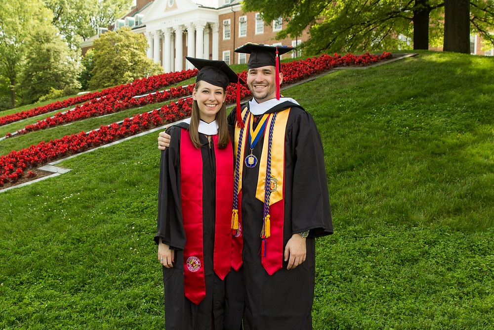 graduation umd couple