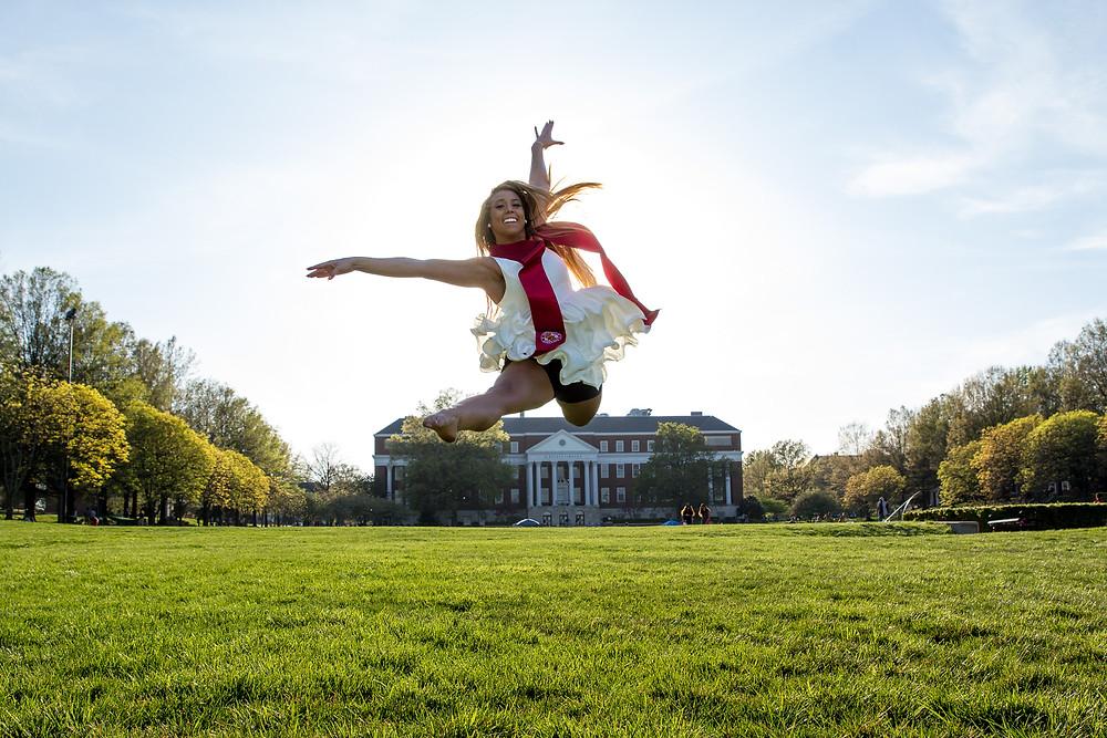graduation leap dance