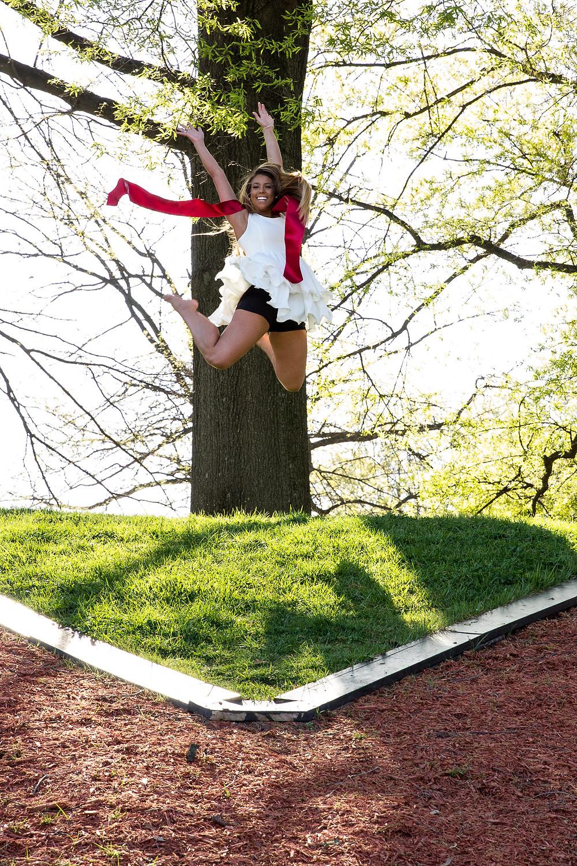 graduation jump
