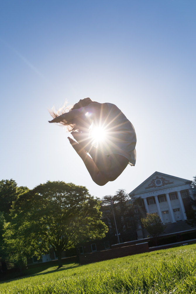 When You Nail the Perfect Sunflare Shot | Graduation Shoot with Gabriella