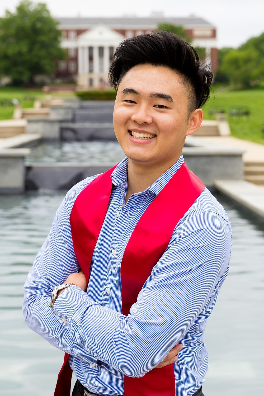 UMD portrait graduation Maryland