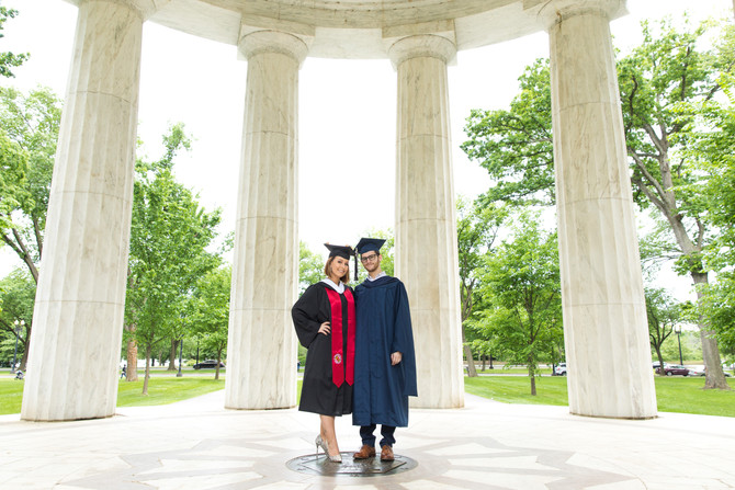 DC Pillars | Graduation shoot with Jorian and Max