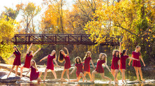 UnBound Dance Team Fall shoot