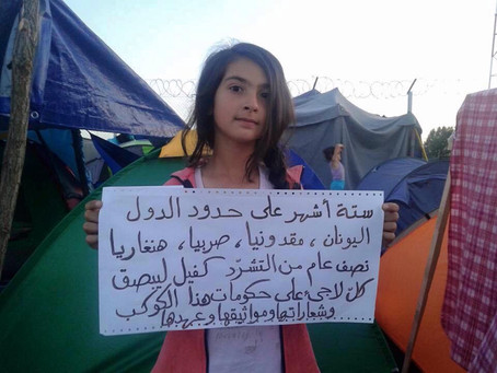 Rita's Message : A Syrian Refugee Child Neglected by the World