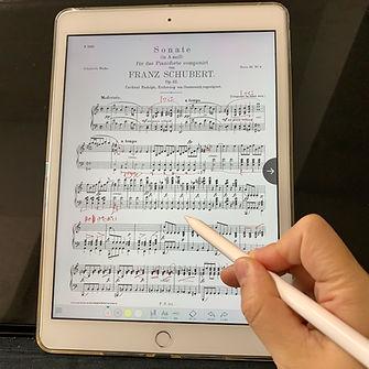 アドバイスレッスン ピアノレッスン オンライン 動画