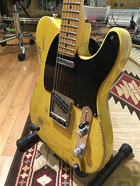 Butter Scotched Telecaster Relic
