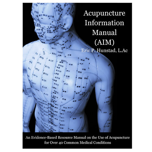 Acupuncture Information Manual - Wholesale Lot of 12