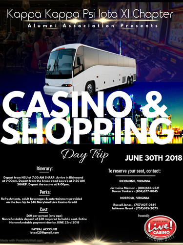 Casion & Shopping Trip Flyer