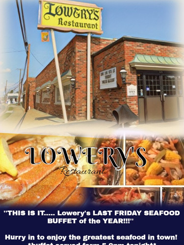 Lowyers Restaurant Flyer