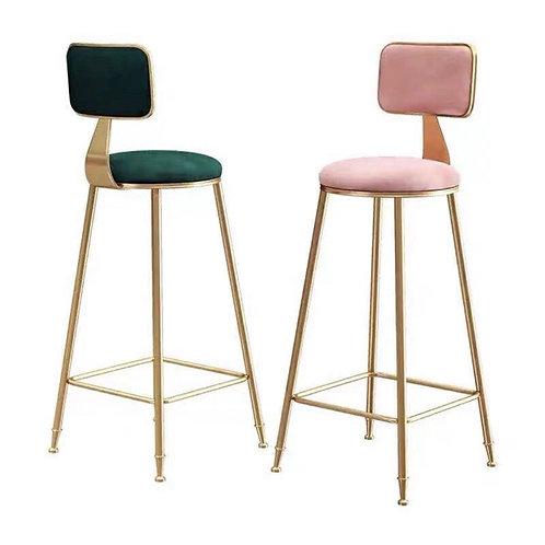 (Pre Order) เก้าอี้ทรงสูงพร้อมเบาะนั่งพนักพิงสไตล์นอร์ดิก