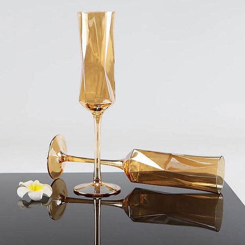 แก้วแชมเปญทรงนาฬิกาทราย Champagne Glass