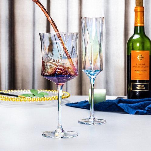 แก้วไวน์ทรงนาฬิกาทราย Wine Glass
