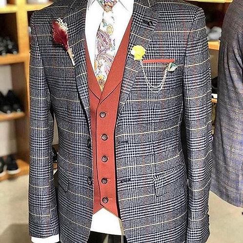Italian Cashmere 3-pcs Suit