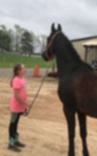 Cash Lovell Riding Lesson Girls Love Horses