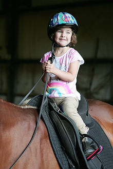 Cash Lovell Little Girl Horse Rider