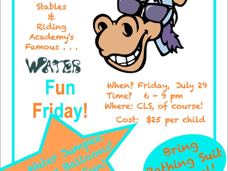 A Watery Fun Friday!