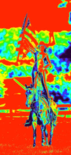 Cashlyn and Coco Thermal Image Standing