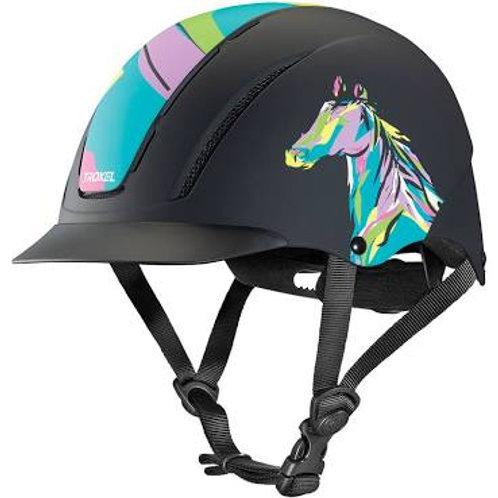 Pop Art Pony Troxel Duratec Spirit Helmet