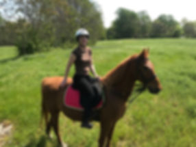 Cash Lovell Adult Riding Lesson