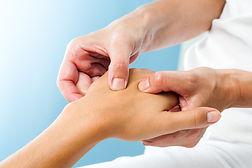 Evelyn's massage and wellness hand massage, trigger point massage