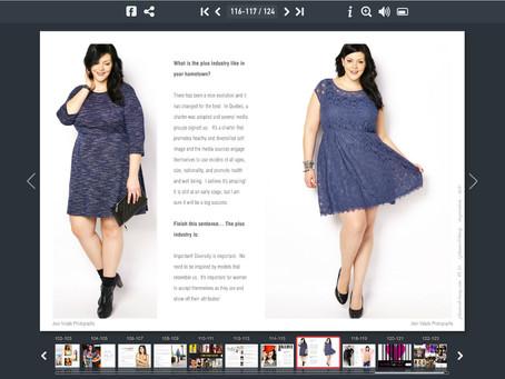 Valerie Morissette / Plus Model Mag