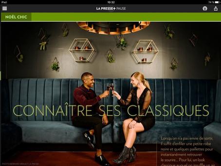 Editorial Mode La Presse  / Noël 2018