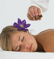 Evelyn's massage and wellness AromaTouch Technique. Essential oils massage