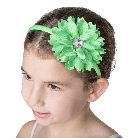 STUDIO 7 -Lime Flower Jewel Headband