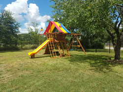 Brand New Swing Set for the Kids