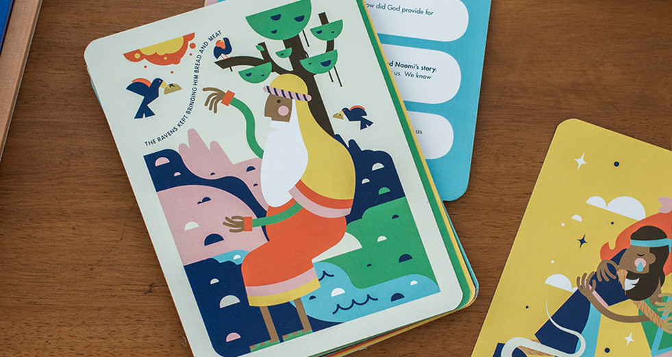 Kids Read Truth Illustrated Cards