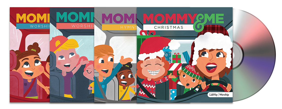 Mommy and Me CD Illustration