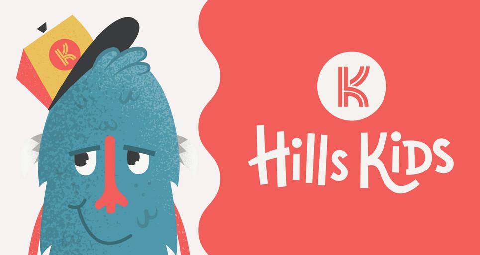 Hills Kids Brand Identity