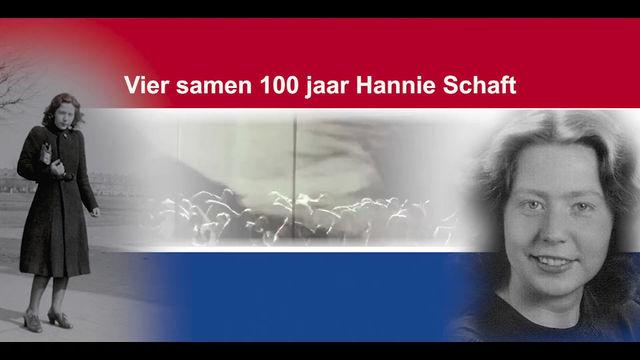 Viering 100 jaar Hannie Schaft