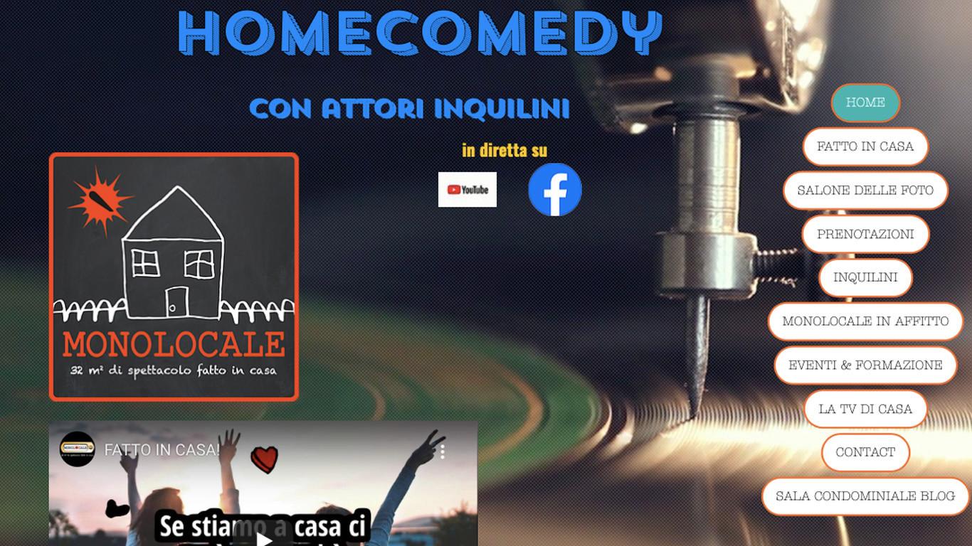 Casa Dolce Casa Roma home comedy/ la tv di casa   monolocale