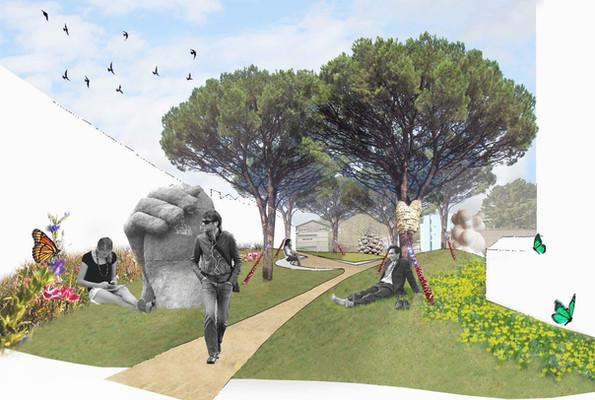 Jeffrey Kelson Pocket Park - Concept Mon