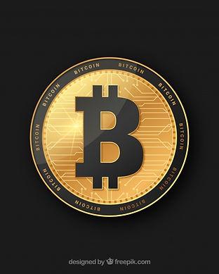 golden-black-bitcoin-design_23-214778900