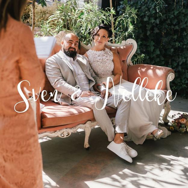 Huwelijksceremonie Sven en Nelleke
