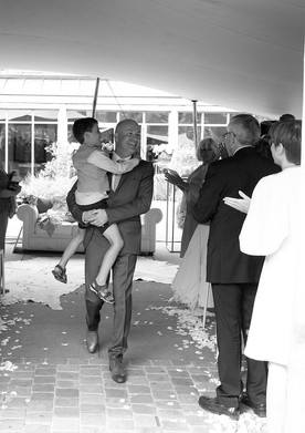 Huwelijksceremonie Karin & David