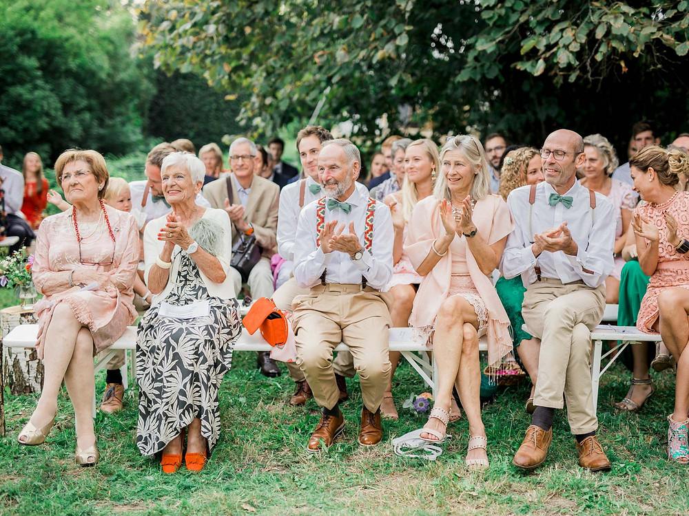 publiek huwelijksceremonie