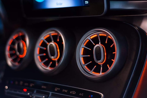 Ambient LED Air Vents for Mercedes C63 / C Class W205