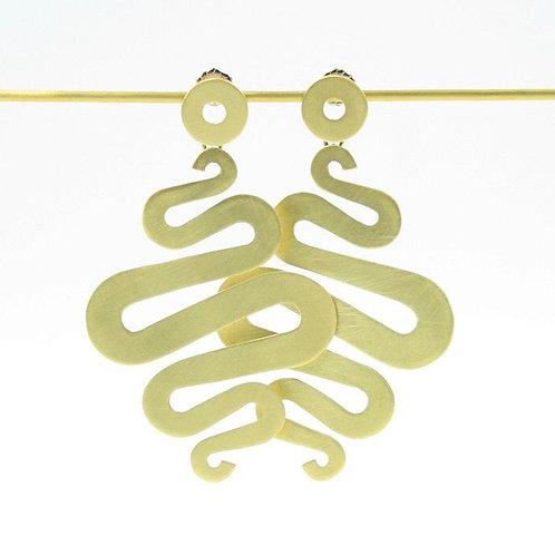 Suzzane Squiggle earrings