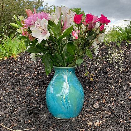 Vase -Turquoise Beauty