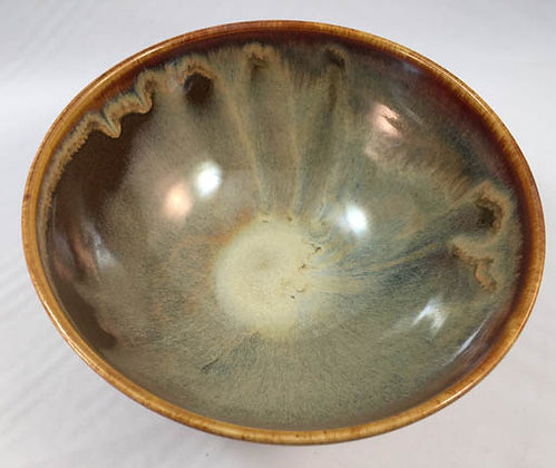 Bowl (M) - Red/Gold