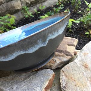 Blue Speckled Bowl