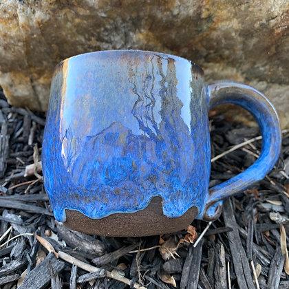 Mug - Electric Blue Drip