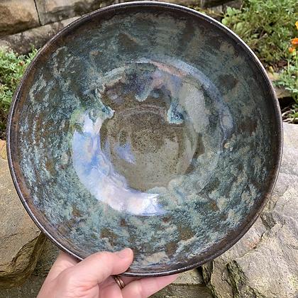 Bowl - Green Galaxy